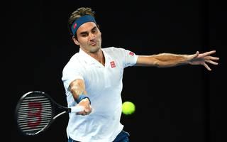 Roger Federer steht bei den Australian Open im Achtelfinale