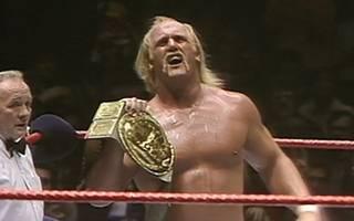 Hulk Hogan gewann im Madison Square Garden erstmals den World Title von WWE
