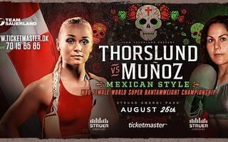 Dina Thorslund bestreitet gegen Yessica Munoz den Hauptkampf bei der Box-Gala in Struer