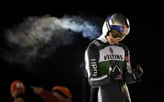 Skispringen: Andreas Wellinger auf Platz zwei bei Weltcup in Kuusamo
