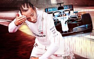 Lewis Hamilton erreicht mit Mercedes bei den Testfahrten der Formel 1 noch nicht das gewünschte Niveau