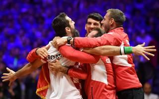 Marin Cilic gewann das entscheidende Einzel im Davis Cup