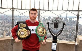 Canelo Alvarez trifft in New York auf Rocky Fielding