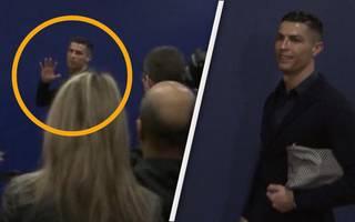 Arroganz-Anfall von Cristiano Ronaldo nach der  Niederlage bei Atletico Madrid