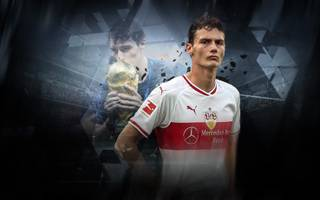 Benjamin Pavard steckt mit dem VfB Stuttgart im Tabellenkeller fest