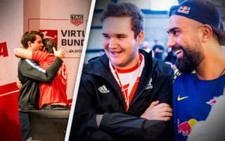 In der FIFA-Szene wird einander geholfen: Das zeigte die Endrunde der TAG Heuer Virtuellen Bundesliga