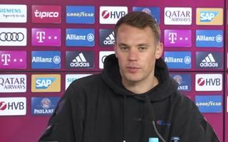 """Manuel Neuer trug am Mittwoch einen """"Champions""""-Pullover"""