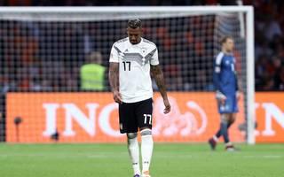 Jerome Boateng nach der Niederlage in den Niederlanden