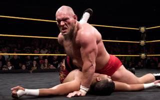Lars Sullivan steht vor seinem WWE-Debüt