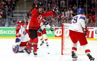 Kanada feiert den Einzug in das WM-Finale