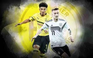 Marco Reus (r.) ist aktuell der einzige Dortmunder Nationalspieler
