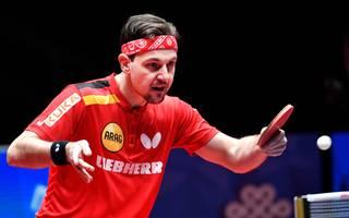 Timo Boll holte gegen Südkorea zwei Punkte