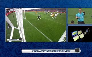 Auch bei der WM 2018 kam der Videobeweis zum Einsatz