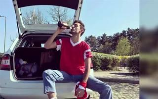 """Fake! """"Fan"""" von Benfica Lissabon reist ins falsche Frankfurt"""