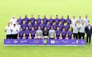 Mannschaftsfoto von FC Erzgebirge Aue