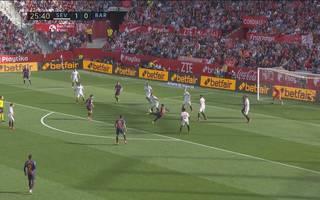 FC Sevilla - FC Barcelona (2:4): Tore und Highlights mit Lionel Messi   La Liga
