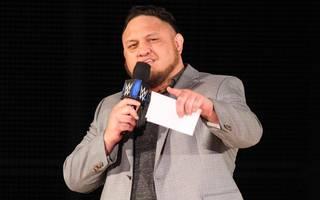 Samoa Joe provozierte AJ Styles bei WWE SmackDown Live mit einem brisanten Brief