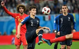 Benjamin Pavard spielte sich bei der WM in Russland in den internationalen Fokus