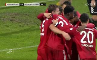 Nicolas Feldhahn erzielte das 2:1 für den FC Bayern München II