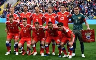 Mannschaftsfoto von Russland