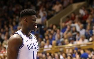 NCAA College Basketball Zion Williamson Zion Williamson spielt seit diesem Jahr als Freshman für die Duke Blue Devils