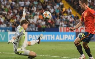 Im Finale der UEFA U21 EM 2019 patzte Torhüter Alexander Nübel