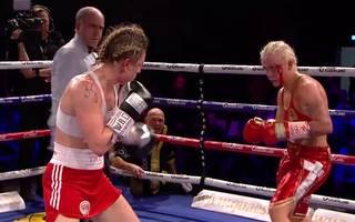 Boxen: Dina Thorslund verteidigt WM-Titel