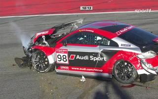 Fabian Vettel crasht - Azcona siegt vor Ellis im zweiten Rennen