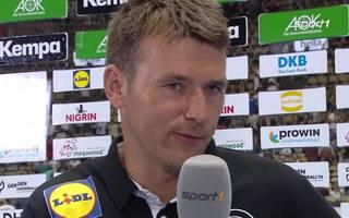 Handball-Bundestrainer Christian Prokop im Interview nach der Testniederlage