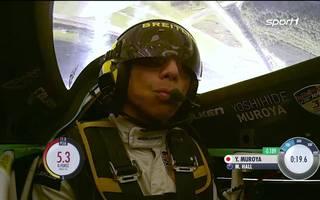 Gewinner Yoshihide Muroya mit Sieg am Lausitzring