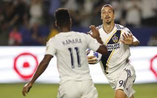 Zlatan Ibrahimovic glänzte jüngst als dreifacher Torschütze für Los Angeles Galaxy