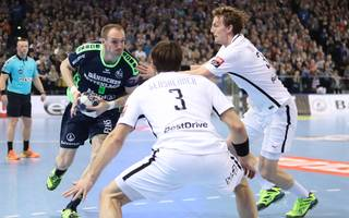 Holger Glandorf traf bereits 2017 mit Flensburg auf PSG und Gensheimer