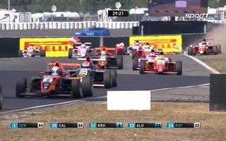 Formel 4: David Schumacher wird am Nürburgring 4., Frederick Vesti gewinnt