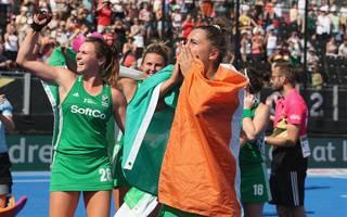 Die Hockey-Nationalmannschaft Irlands steht im Finale der WM