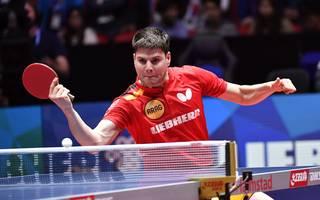 Dimitrij Ovtcharov musste sich einem Chinesen geschlagen geben