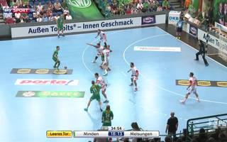 GWD Minden - MT Melsungen (32:27) - Tore und Highlights im Video | HBL