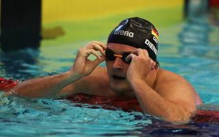 Schwimmen, WM in China: Deutsche Starter verpassen Medaillen - USA mit Weltrekord , Rückenschwimmer Christian Diener musste sich bei der WM mit Platz sieben begnügen