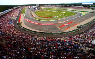 Auf dem Hockenheimring wird der Große Preis von Deutschland ausgetragen