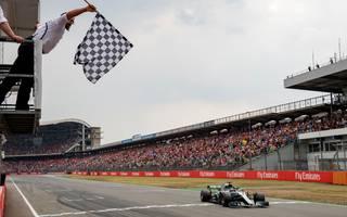 2018 gewann Lewis Hamilton den Großen Preis von Deutschland