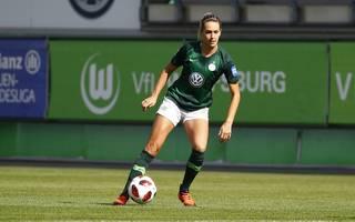 Lena Goeßling muss mit den Damen den VfL Wolfsburg in der Champions League gegen Atletico Madrid antreten