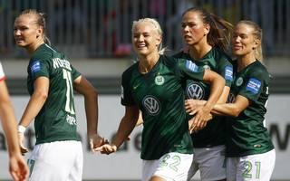 Die Frauen des VfL Wolfsburg lassen Atletico Madrid keine Chance