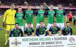 Mannschaftsfoto von Nordirland