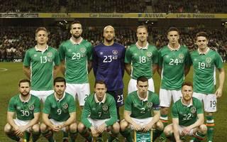 Mannschaftsfoto von Irland
