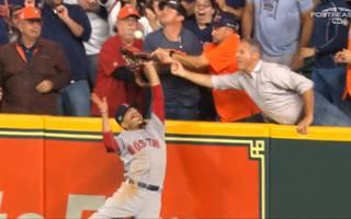 Houston Astros vs. Boston Red Sox: Fans verhindern Monster-Catch