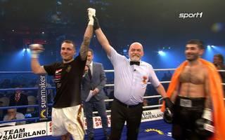 Boxen: Slawa Spomer vs. Igor Faniian