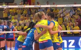 SSC Palmberg Schwerin lässt Allianz MTV Stuttgart im Finale keine Chance