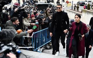 Cristiano Ronaldo erschien am Dienstag zum Gerichtstermin in Madrid