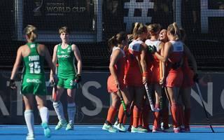 Die Niederlande gewannen das WM-Finale gegen Irland klar