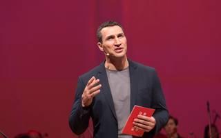 Wladimir Klitschko Launch Event