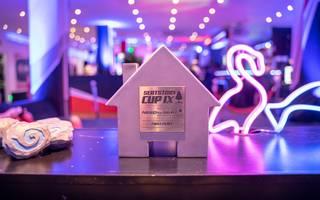 Der Gewinner erhält diese stilechte SeatStory-Cup-Trophäe. Am Ende durfte sich BoarControl darüber freuen
